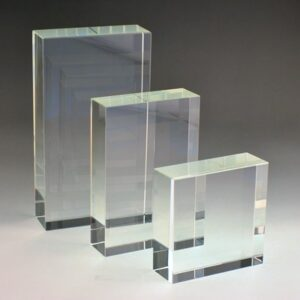 Blank Rectangle Crystal block by etchcraft