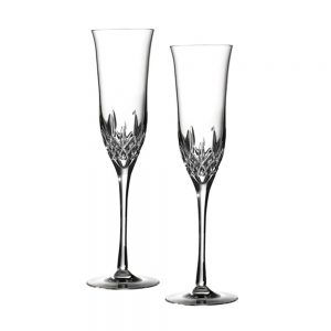 Waterford Lismore Essence Champagne Flutes