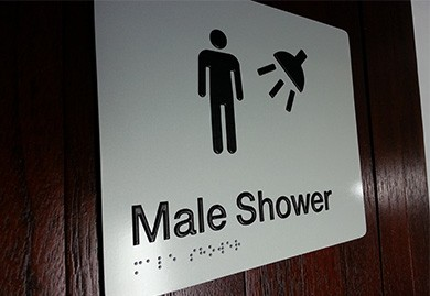 Braille signage awards by Etchcraft