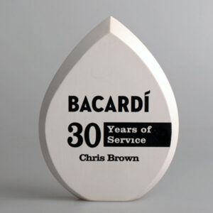 Blank Ecostone Teardrop Award by Etchcraft