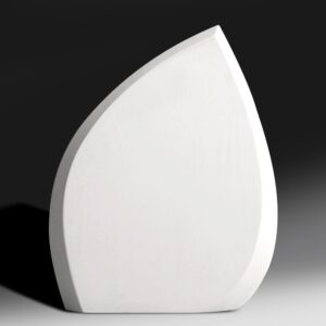 Blank Ecostone Leaf Award by Etchcraft