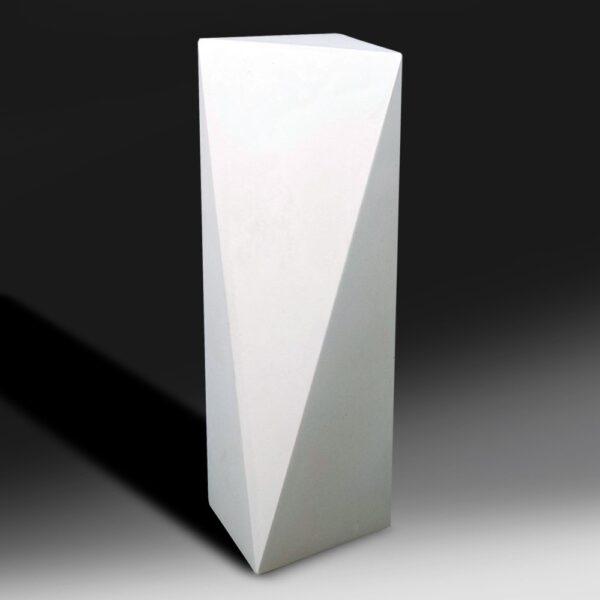 Blank Ecostone Tall Prism Award by Etchcraft