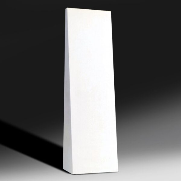 Blank Ecostone Tall Wedge Award by Etchcraft