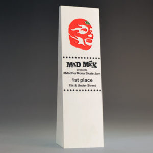 Blank Ecostone Tall Wedge Award by Etchcraf