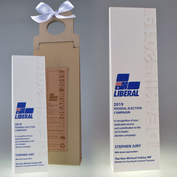 Liberal Ecostone award by Etchcraft