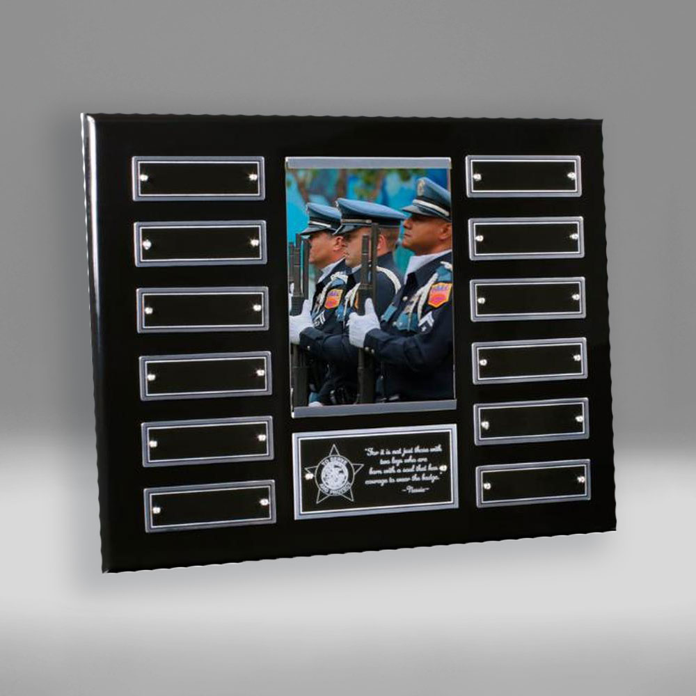 Perpetual plaque award by Etchcraft