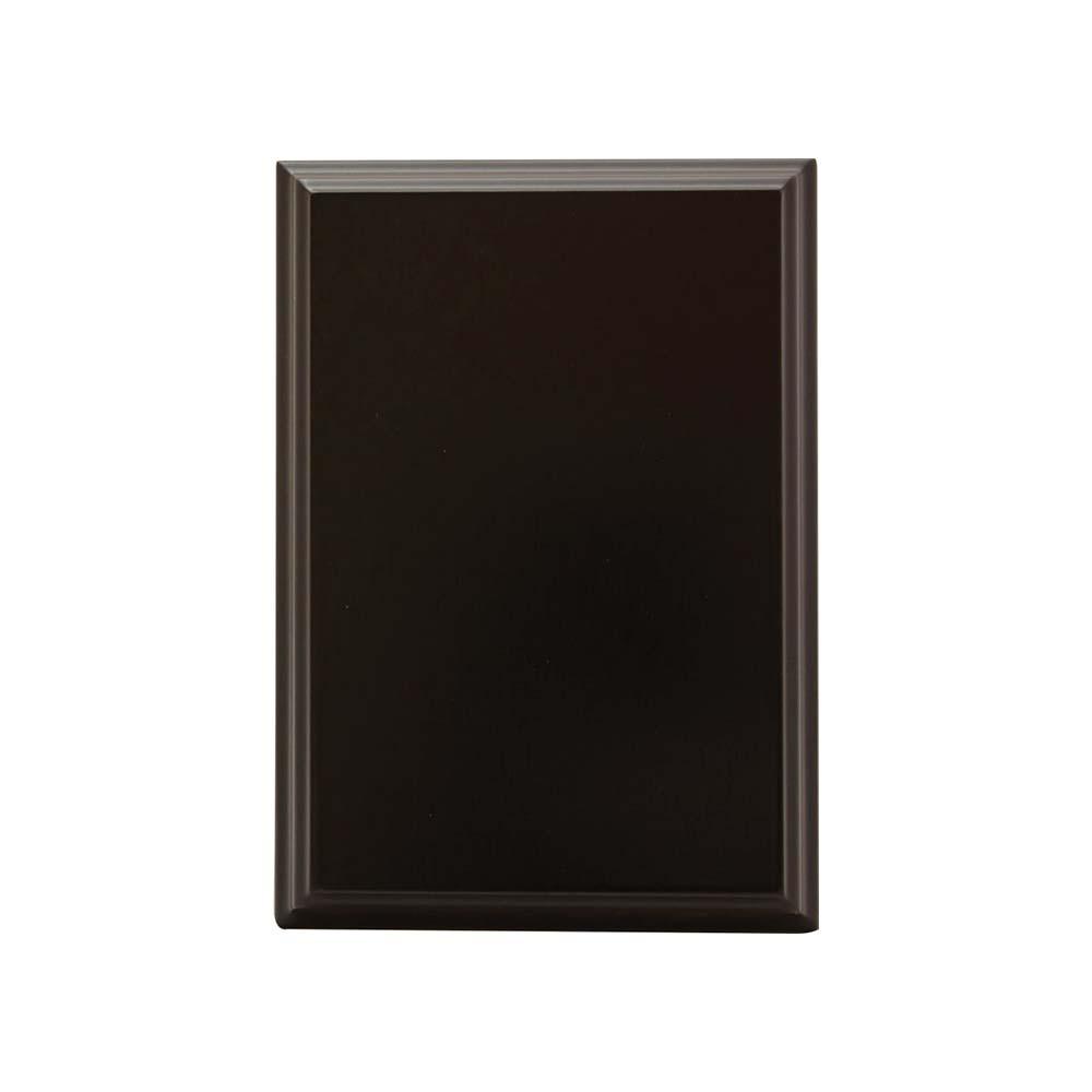 Black plaque by Etchcraft