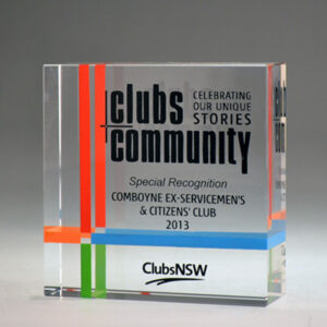Club NSW award by Etchcraft