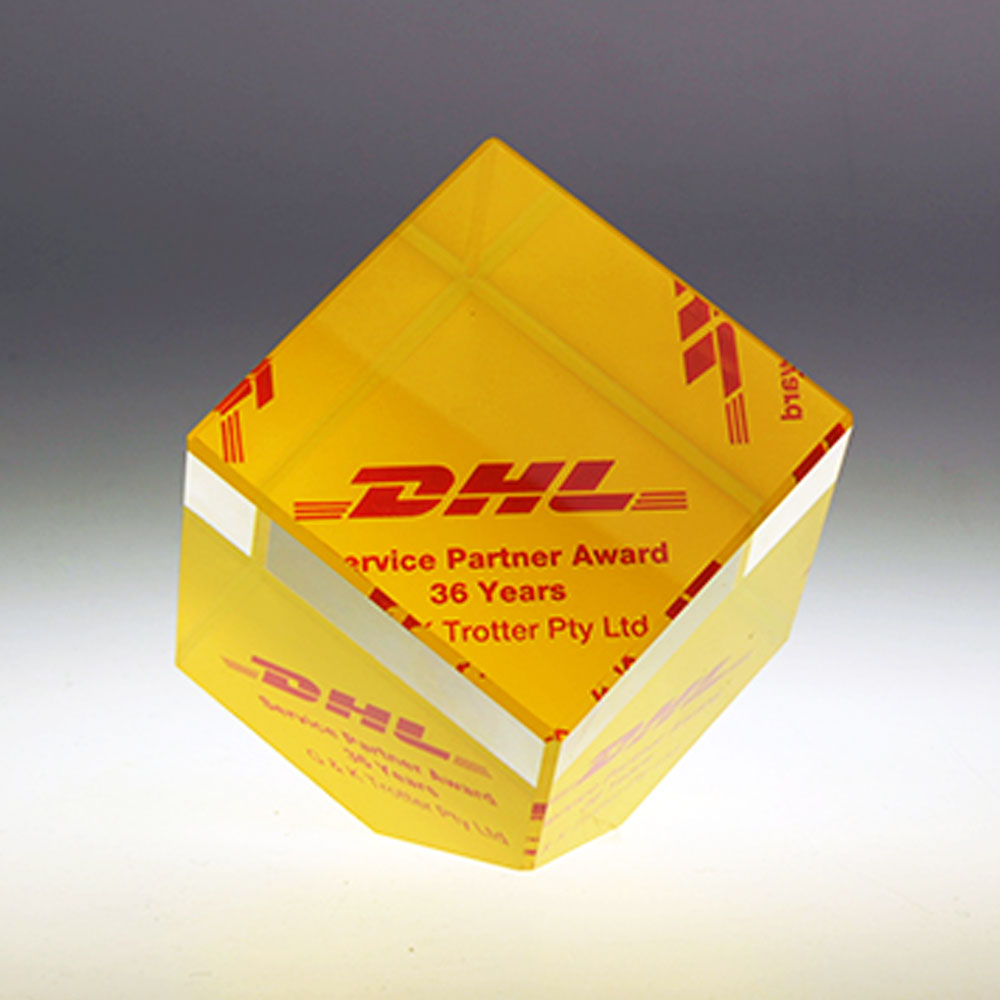 DHL cube award by Etchcraft