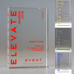 Event elevate awards by Etchcraft