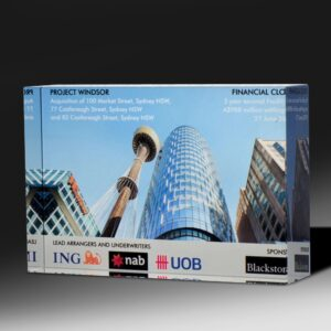 ING digital print award by Etchcraft