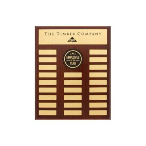 Premium Perpetual plaque by Etchcraft
