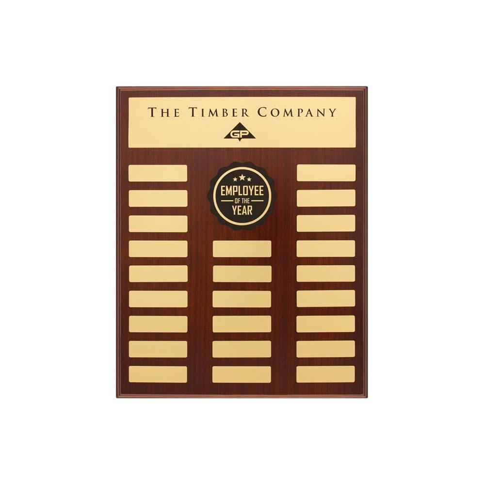 Premium Perpetual plaque by Etchcraft