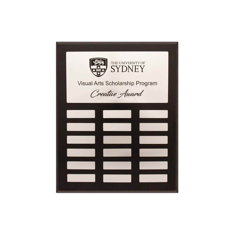 Uni Perpetual plaque by Etchcraft