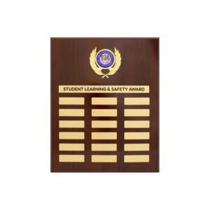 School Perpetual plaque by Etchcraft