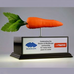 Blue Scope Carrot Award by Etchcraft
