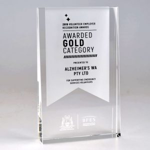 DFES wedge award by Etchcraft