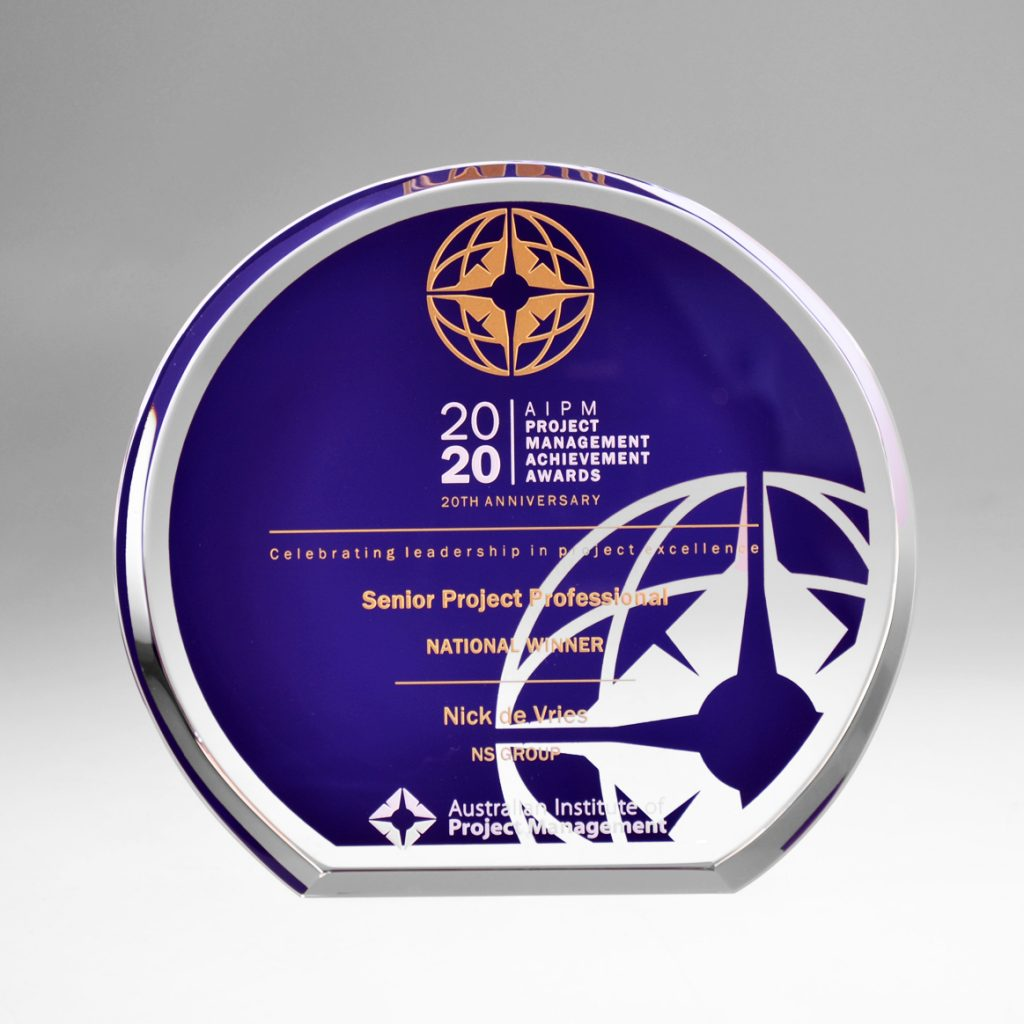 AIPM Crystal Award by Etchcraft