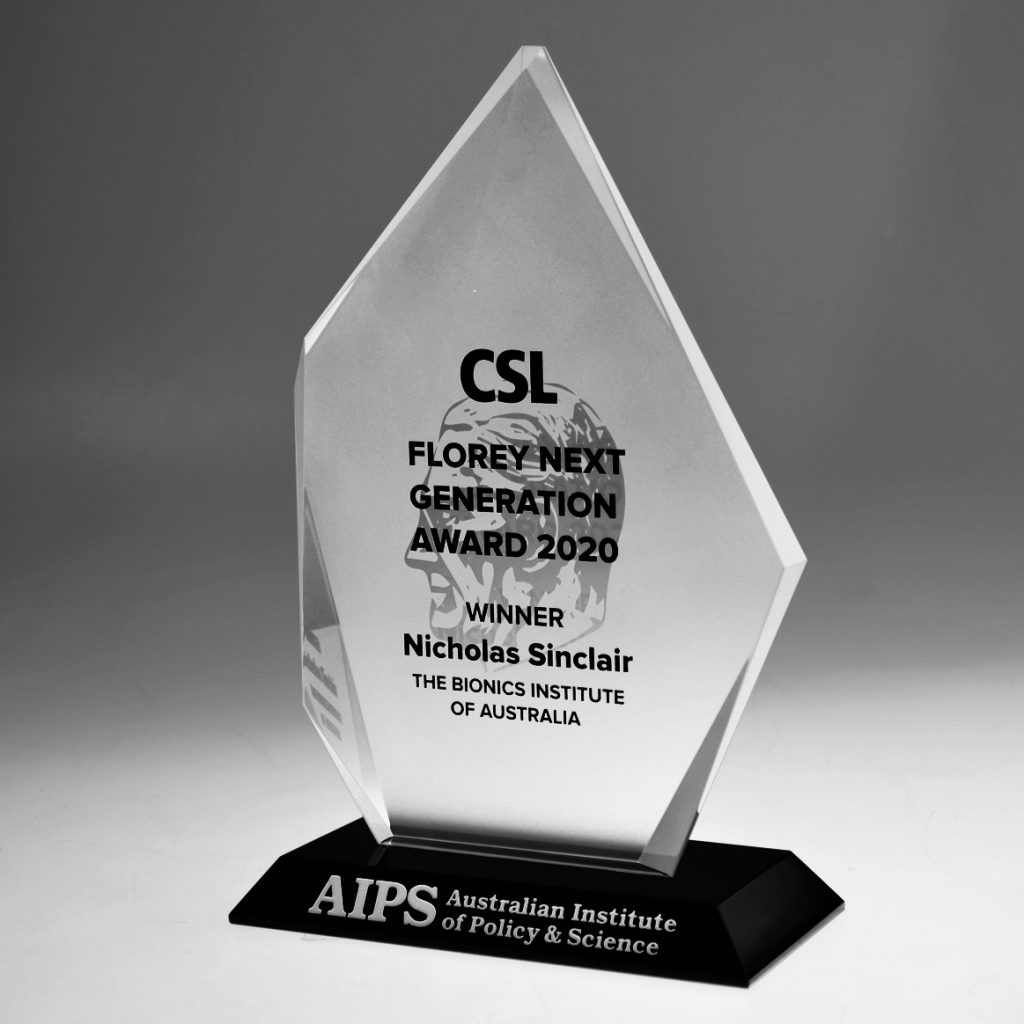AIPS Crystal award by Etchcraft